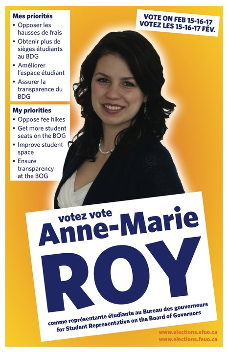 Anne-Marie Roy - BoD poster - February 2011