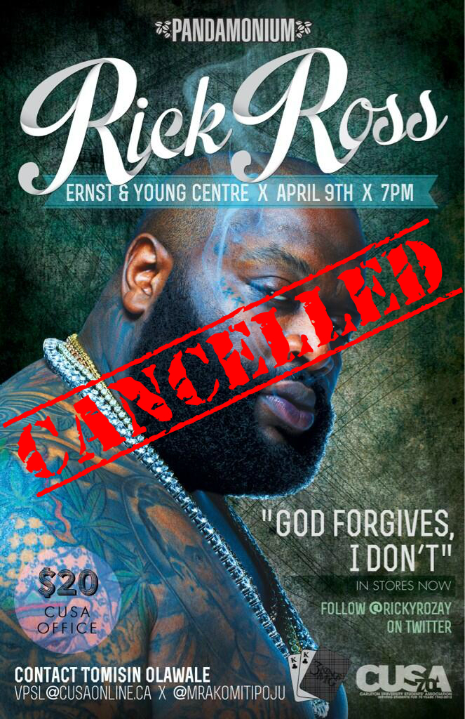 Rick Ross Promotional Material