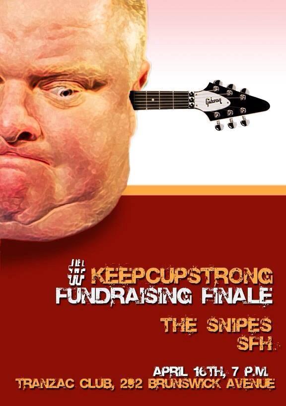 KeepCUPstrong concert poster